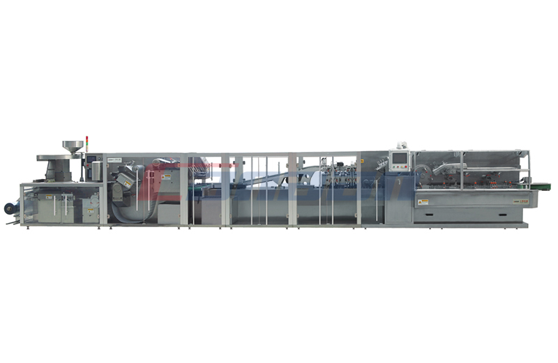 DPH-260/320/360 High Speed (Al-plastic/Box)  Integrated Production Line