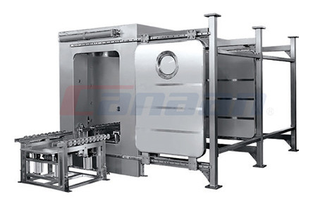 QDS Series Bin Washing Station, Double Chamber