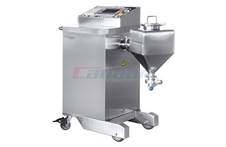 BGS Series coater with perforated drum